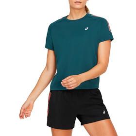 asics Icon T-Shirt Dames, petrol